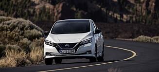 Utsetter lansering av Nissan Leaf