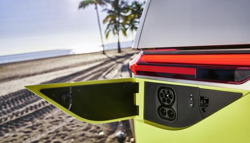 CCS: VW går for den samme CCS-løningen (Combo Charge System) som de fleste andre produsenter. Foto: VW