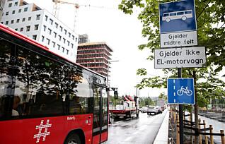Nei, du «er» ikke buss, selv om du kjører elbil