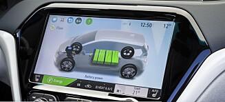 Ønsker ikke å oppgi batterikapasiteten på elbiler