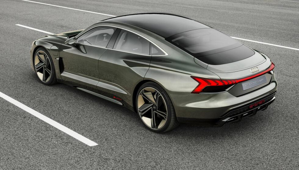 2021: Den ser unektelig en smule futurisk ut, men så kommer den heller ikke før i 2021. Foto: Audi