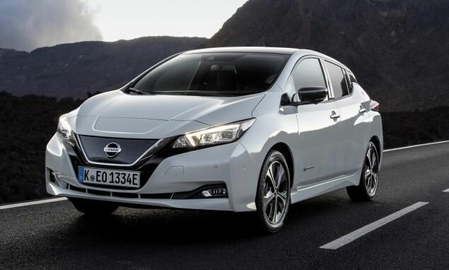 <strong>Topper tronen:</strong> Nissan Leaf ligger godt an til å bli Norges mest solgte bil. Foto: Nissan