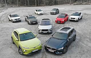 Elbil-dominans i Årets bil 2019