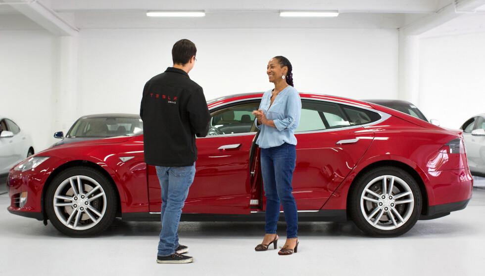 <strong>BESTSELGER:</strong> Tesla har flere ganger toppet salgslistene, ikke bare for elbiler, men totalt. Foto: Tesla
