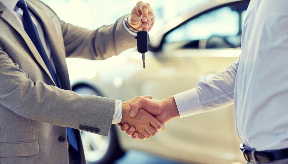 PRESSET MARKED: Lage ventelister gjør at folk prøver å selge plasser på ventelister, og selge nye bilere dyrere enn utsalgspris. Foto: NTB Scanpix