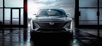 Her er den første helelektriske Cadillacen