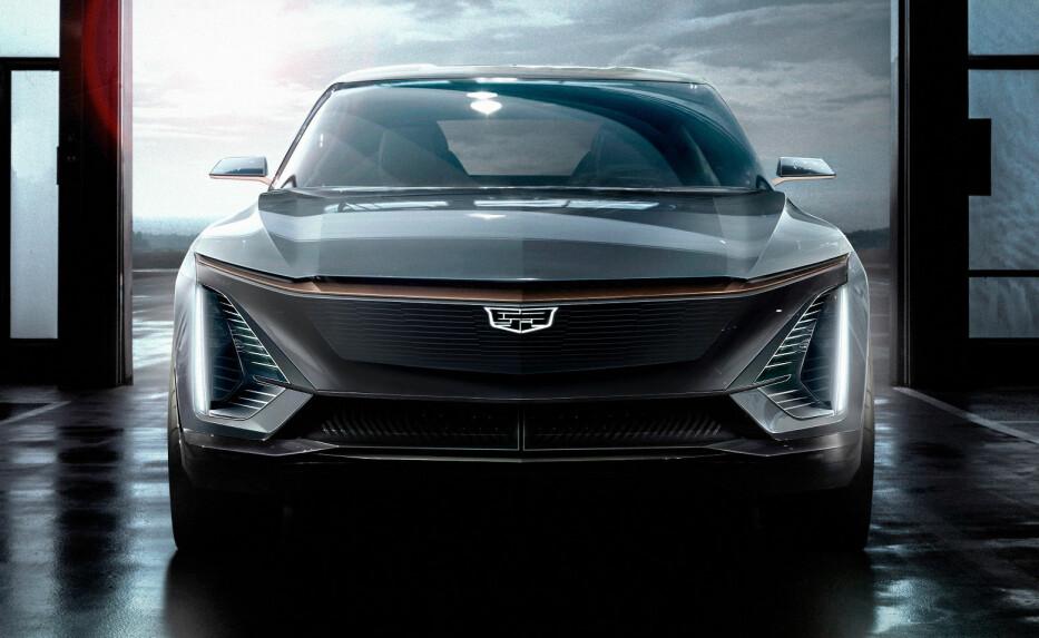 EKSKLUSIV ELBIL: Cadillac kaster seg inn på elbilmarkedet med en ny hig-end hel-elektrisk modell. Foto: Cadillac