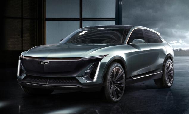 CROSSOVER: Bildene viser det som kan ligne på en crossover-bil. Foto: Cadillac