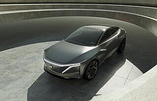 Nissan viser kommende elbil