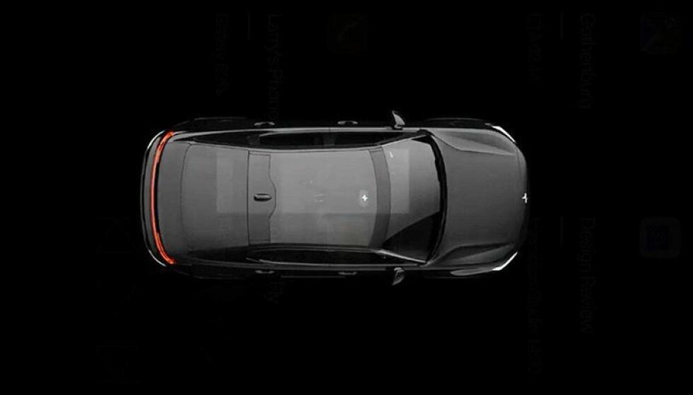 <strong>FIREDØRS SEDAN:</strong> Bilen har fire dører og er formet som en sedan. Foto: Polestar