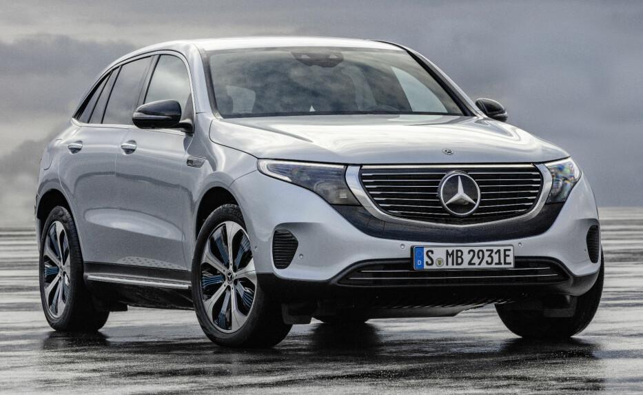 I NORGE FØRST: Tosifret antall EQC vil rulle rundt på østlandet før sommeren. Foto: Daimler