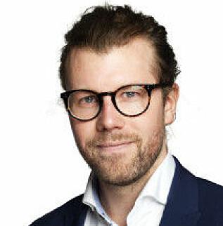 GODT SYNLIG: Den nye elbilen EQC vil være godt synlig for punlikum, sier PR og Informasjonssjef i Mercedes Benz Norge, Audun Hermansen