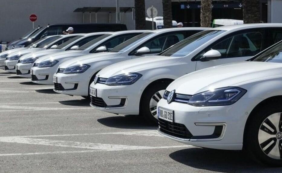 "RENEST: VW e-Golf er ble den ""reneste"" bilen i ADACs økotest 2018. Foto: Knut Moberg"