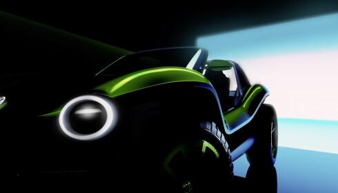 ÅPEN: Den nye versjonen har, som den originale, ingen faste dører eller tak. Foto: VW