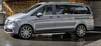 Elektrisk familiebil fra Mercedes-Benz