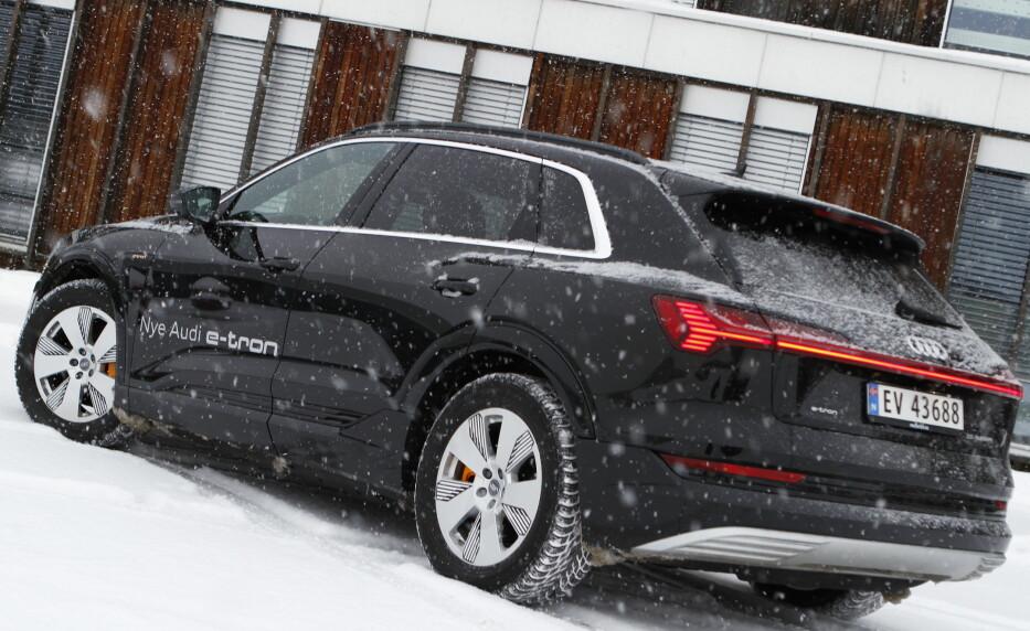 Ingen lader raskere enn Audi e-tron