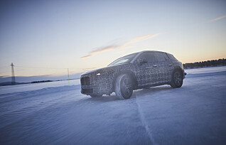 Her testes BMWs nye elbil på nordisk vinterføre