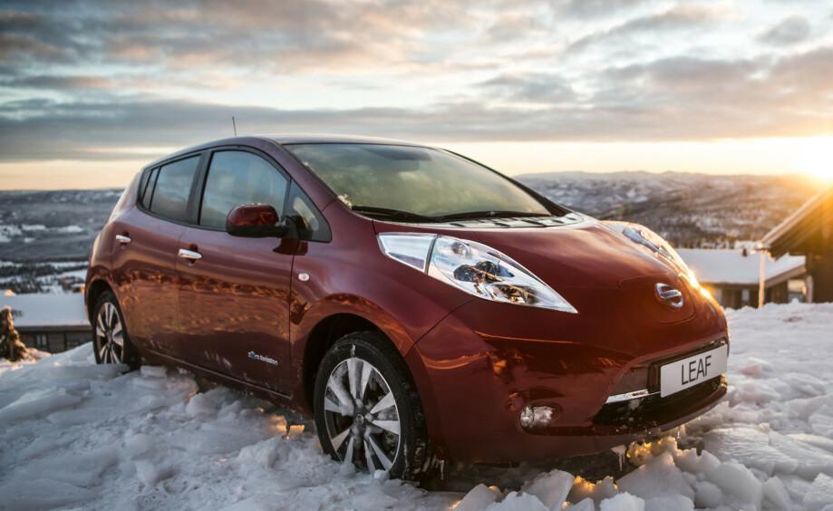 VINTERTIPS: En elbil med varmepumpe vil være mer effektiv om vinteren enn en elbil uten.