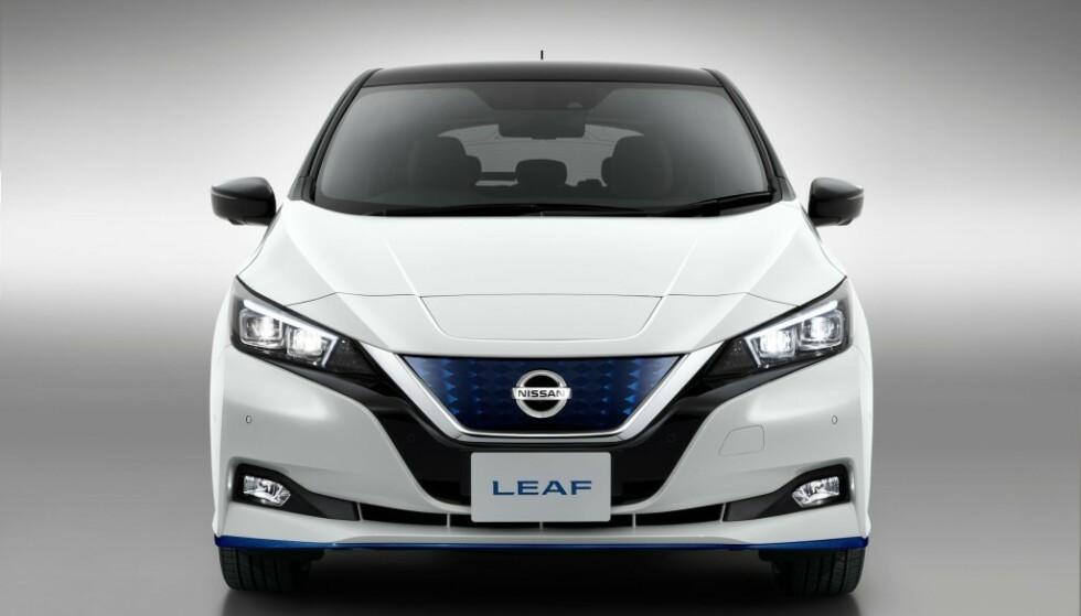 <strong>STOR INTERESSE:</strong> Over halvparten av Nissan LEAF Limited Edition med lengre rekkevidde er allerede forhåndsbestilt. Foto: Nissan