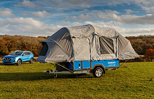 Camping med gamle elbilbatterier