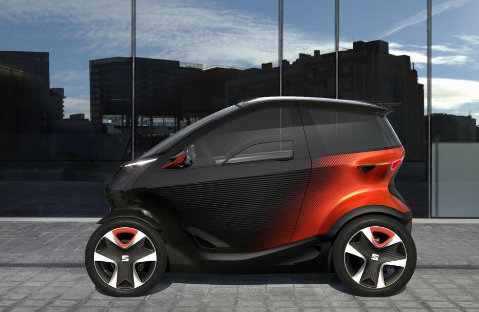 FLERE LØSNINGER: Flere produsenter har nå laget slike konsepter. Dette er Minimo fra Seat. Foto: Seat