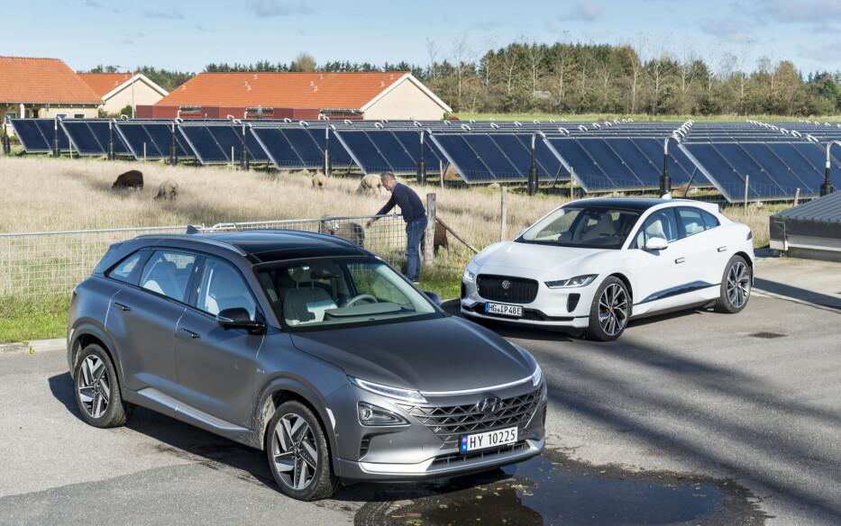 Elektrisk bil på to helt forskjellige måter