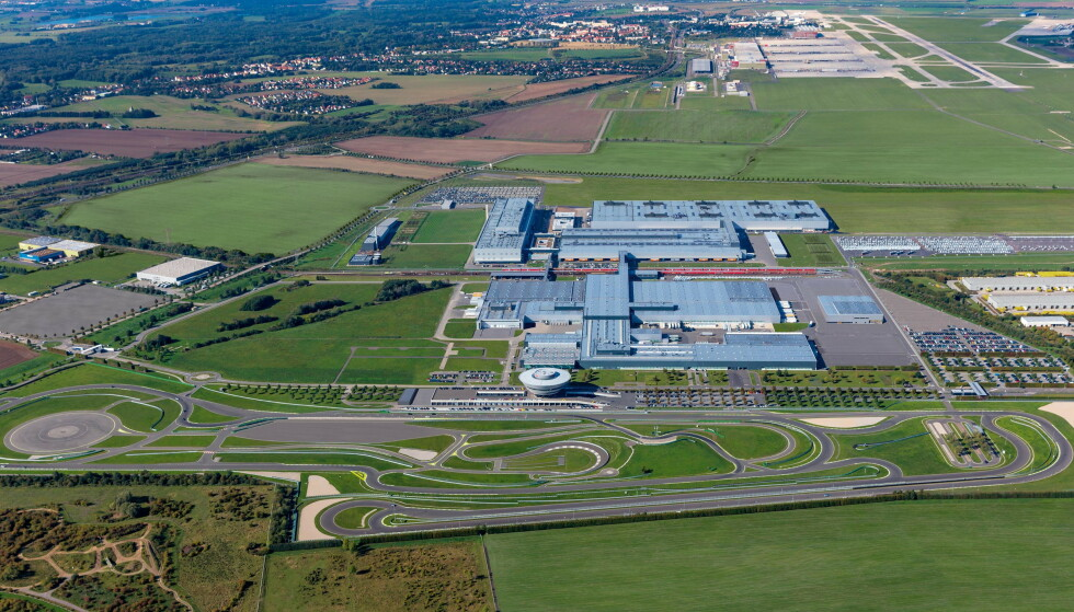 LEIPZIG: Elektriske Macan skal bygges i Leipzig. Foto: Porsche