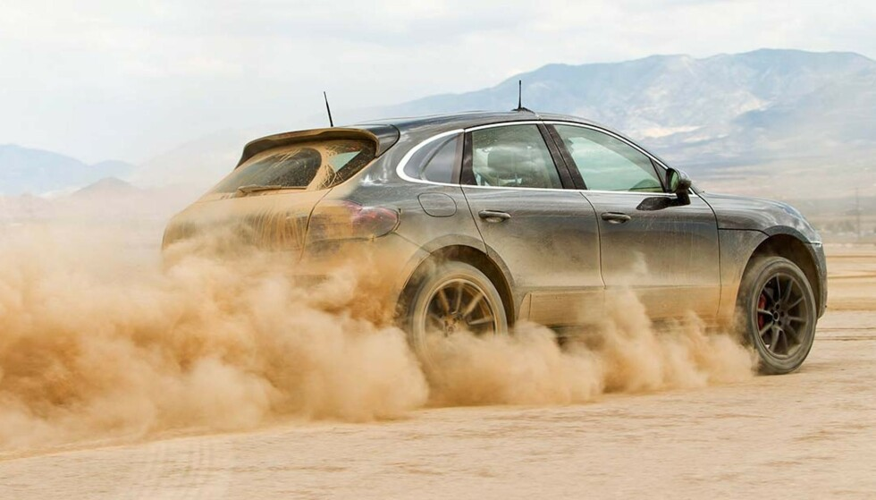 ELEKTRISK: Porsche Macan kommer som elbil i 2022. Foto: Porsche