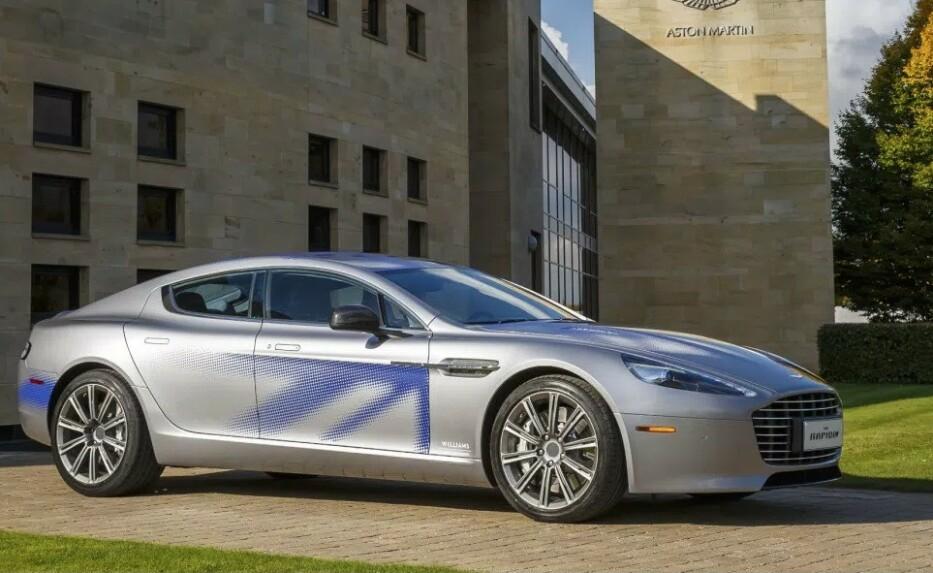 SUPER-ELBIL: Aston Martins RapideE blir etter alt å domme etteretningsagent 007 sin nye bil i den kommende filmen. Foto: Aston Martin.