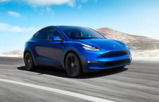 Her er Tesla Model Y