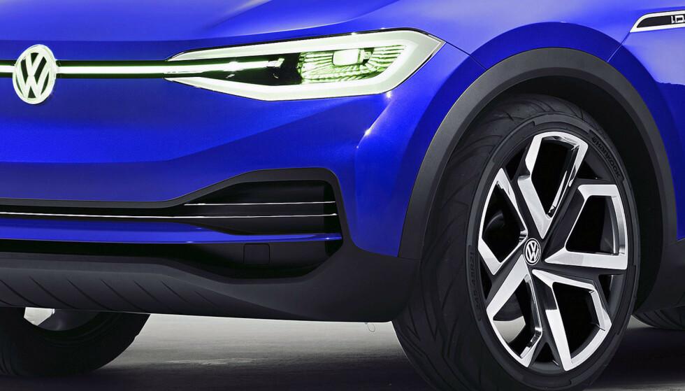 UKJENT SUV: Elbil24 avslører at VW kommer med en til nå ukjent SUV neste år. Bilen vil posisjoneres som en slags elektrisk Tiguan. Foto: VW