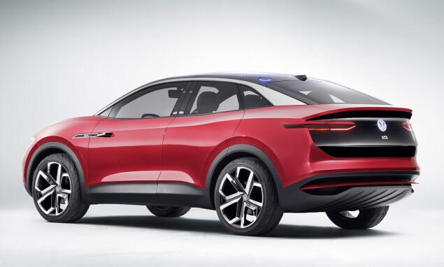 VW I.D. Crozz: Dette er crossoveren, som allerede er vist som konseptutgave, og som kommer i 2021. Foto: VW