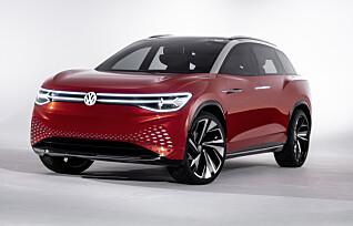 Hils på VW Roomzz, en stor elektrisk familie-SUV