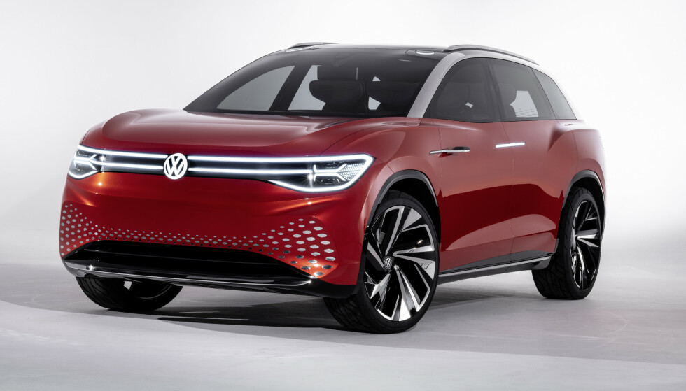 VW ROOMZZ: Slik bil den store familie-SUV'en se ut, når den kommer på markedet i 2022. Foto: VW