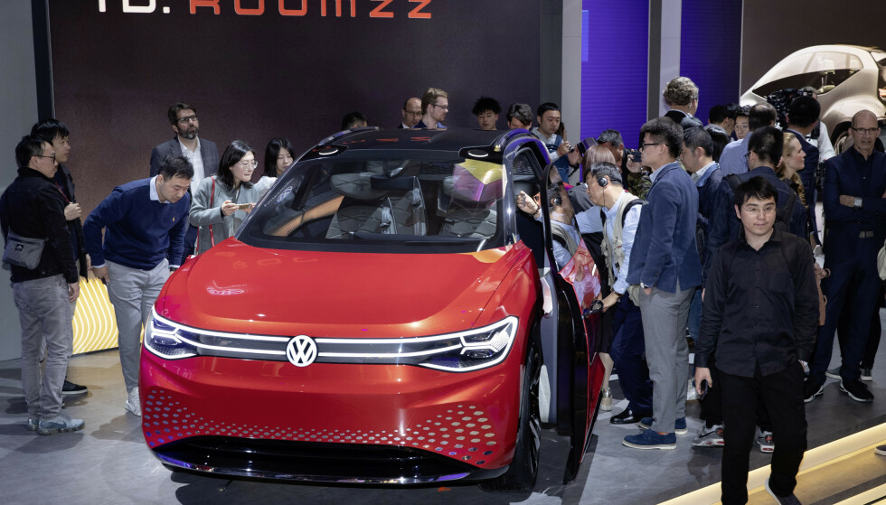 LANSERING: Bilen ble første gang vist på bilmessen i Shanghai. Foto: VW