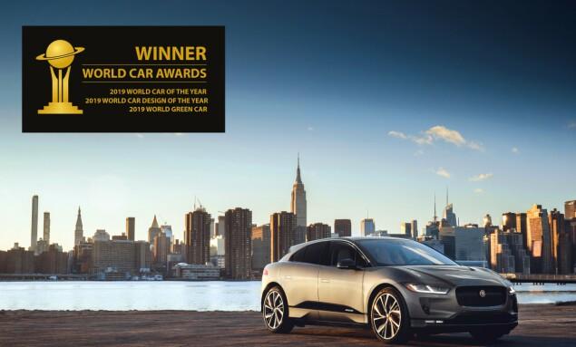 VERDENSBILEN: Hva kan overgå tittelen World Car of the Year 2019? Foto: Jaguar