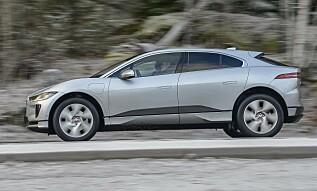 HEDER OG ÆRE: Jaguar høster god kritikk fra alle hold, også for sitt design. Foto: Jaguar