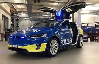 Norsk politi vurderer elbiler