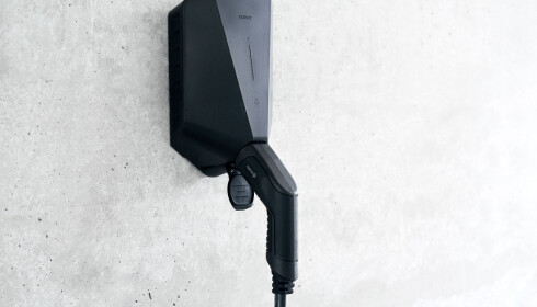 FREMTIDSSIKRET: Circle Ks norskproduserte Easee-hjemmelader har innebygd 4G-nett.