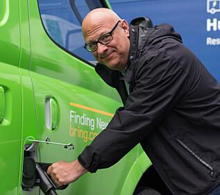 MILJØVENNLIG: Anders Lennartsson, bærekraftsjef i IKEA Retail Norge, sier de vil bytte til kun nullutslippskjøretøy innen 2025.