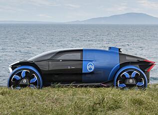 AERODYNAMIKK: Bilens design skal være inspirert av flyindustrien. Foto: Citroën