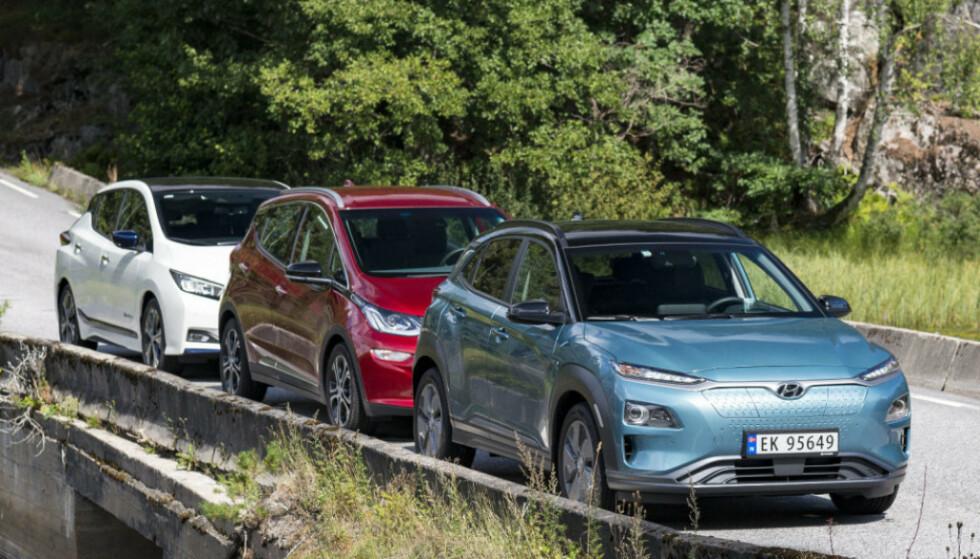 PRISGITT ANDRE: Norge er avhengig av andre lands markeder for god tilgang på elbiler. Foto: Jamieson Pothecary