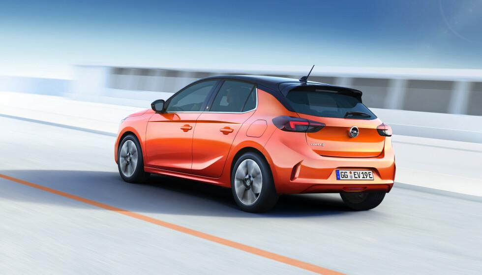 SLEKTNING: Corsa blir en slektning til blant annet Peugeot 208. Foto: Opel