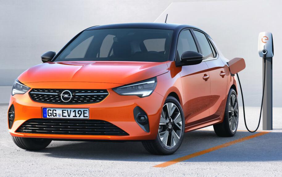LAVERE: Nye Corsa blir lavere enn tidligere. Foto: Opel