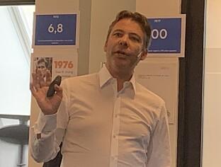 <strong>TRENGER ALLE TRE:</strong> Markedsdirektør for bærekraftig energiteknologi, Steffen Møller-Holst, sier både biogass, hydrogen og batterier vil trengs i fremtiden.