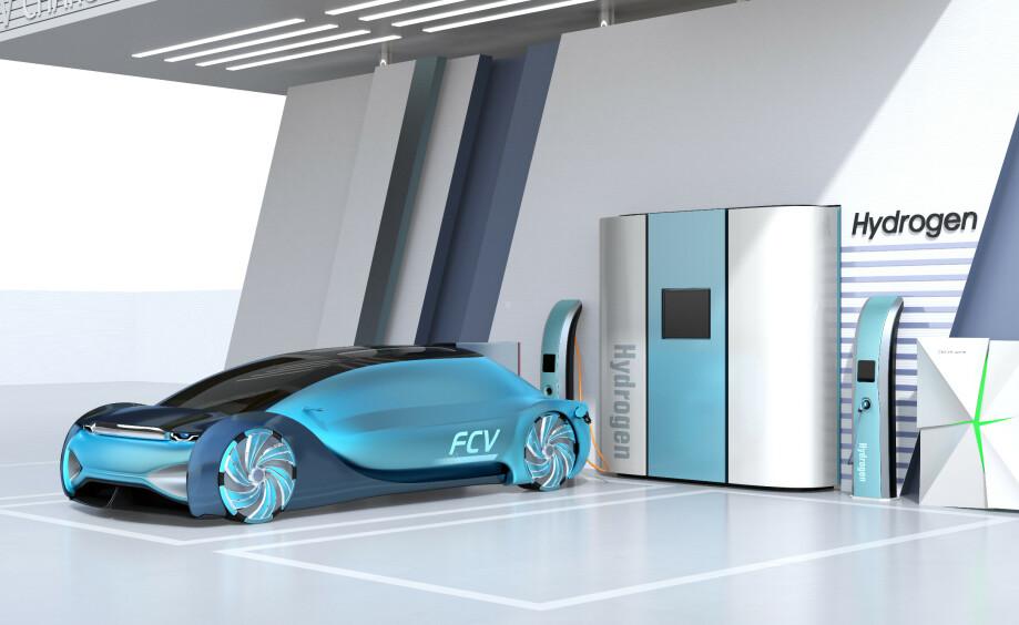 FREMTIDENS ENERGIKILDE: Hva skal drive elbilene i fremtiden, batterier eller hydrogen? Eller kanskje begge deler? Foto: NTB Scanpix