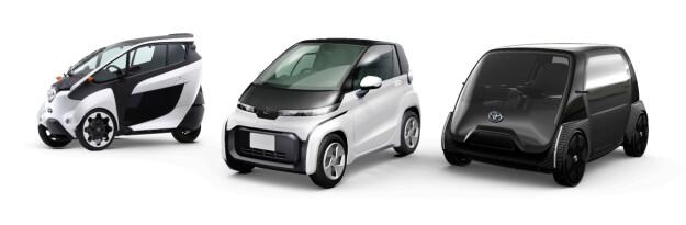 Her er Toyotas nye elbiler