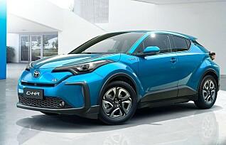 Her er Toyotas neste elbil