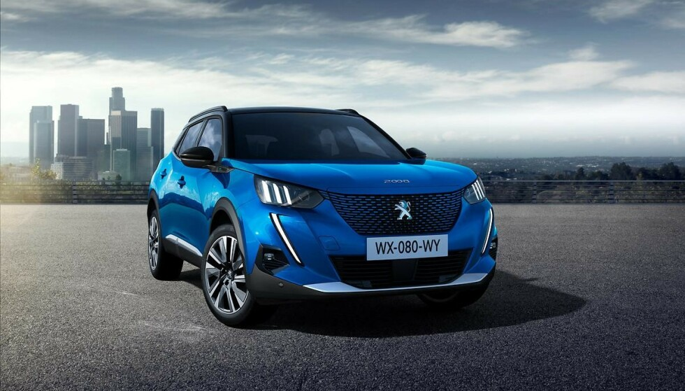 Familie-SUV: Peugeot lanserer nye helektrisk familie-SUV med sin e-2008. Foto: Peugeot
