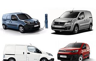 Få inntil 50.000 kroner i støtte ved kjøp av elektrisk varebil